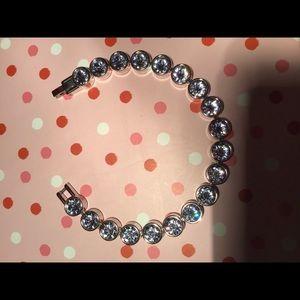 🦋Swarovski Crystal Light Sapphire Ice Bracelet 🦋